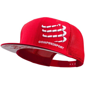 Compressport Trucker Cap Hodeplagg rød